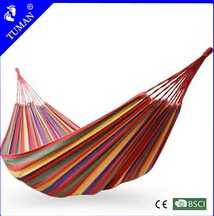 multicolor wholesale promotion cheap cloth hammock