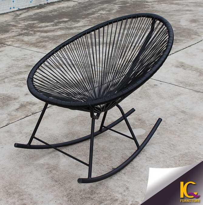 Outdoor single chair garden furniture antique rocking chair sofa design on sale