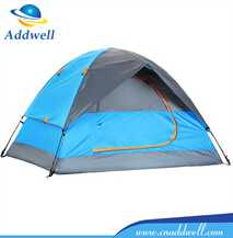 Lakeside wind resistant 4 person double layer outdoor camping tent