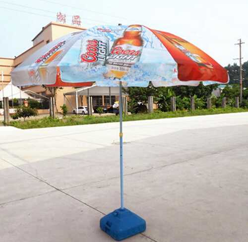 color changing Cheap Price umbrella fabric with customized logo