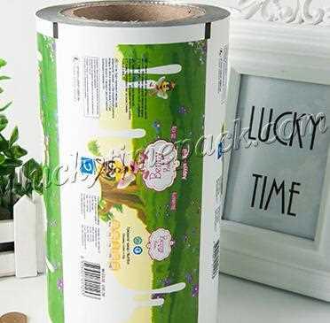 Food grade plastic food packaging roll film for water sachet 500ml
