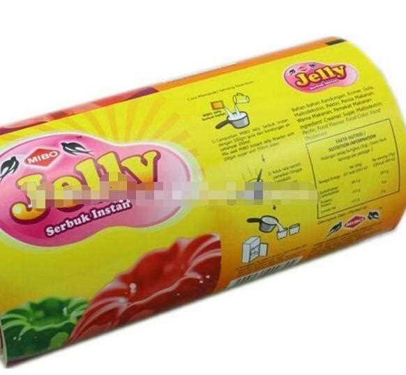 Good barrier property food grade plastic packaging film roll