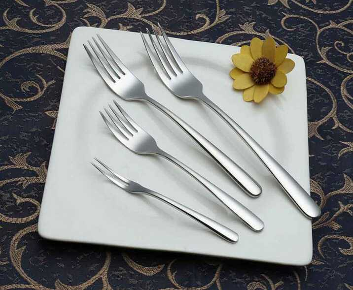 Durable Mirror Polished Stainless Steel Cutlery