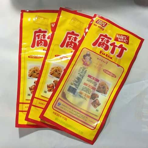 Plastic Food Packaging Bag for Beancurd Sticks