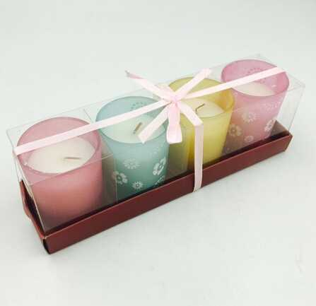 70g Vanilla Scent Wedding Candle Set