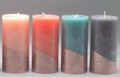 Classic Changing Color Decorative Pillar Candles China