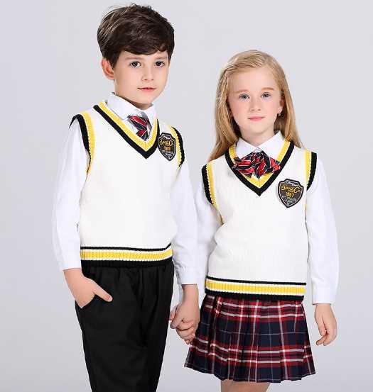 Clothing OEM Manufacturer Wholesale Vest Sweater School