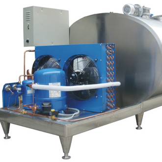 Vertical Cooling Milk Storage Tank