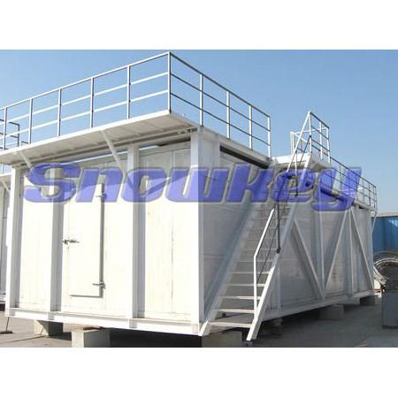 Combined Automatic Ice Storage Bin