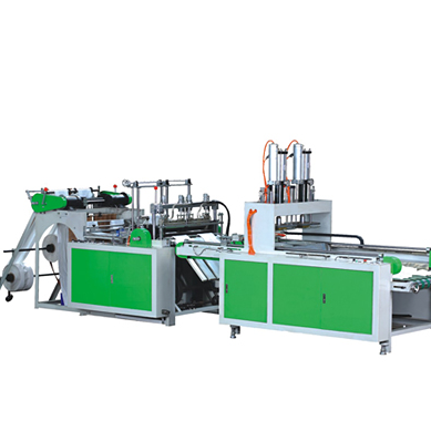 Fully Automatic T-shirt Bag Making Machine(2 Line)