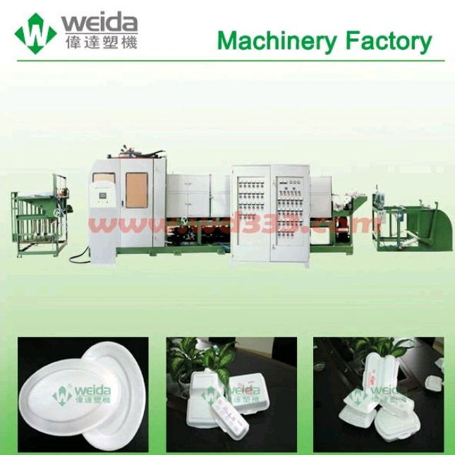paper food container making machine