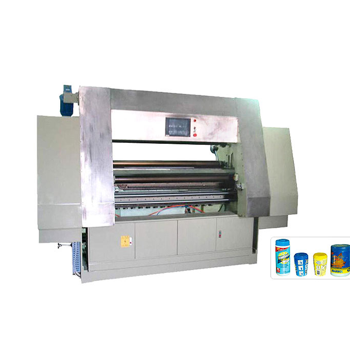 DC-15C Automatic single layer can wet tissue machine