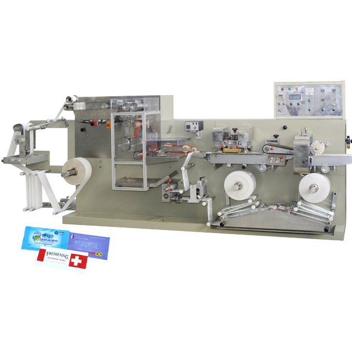 DC-300 Full automatically hi-speed single piece wet wipe making machine