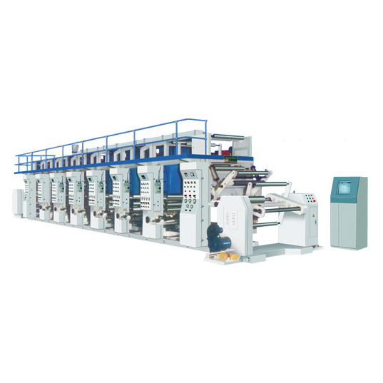 CYA Computer Automatic Chromatically Gravure Printing Machine