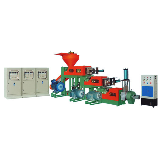 Three-stage Automatic change filtrate Waste Plastics Regenerative Pelltizer