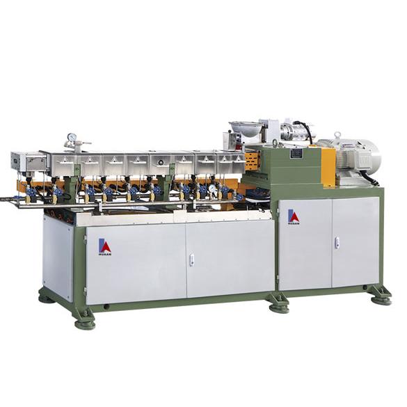 Double Screw Extrusion Coating Machine