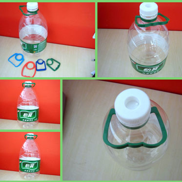 Automatic bottle Handle applicator