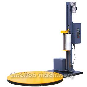 T1650E Semi-automatic economic pallet wrapper