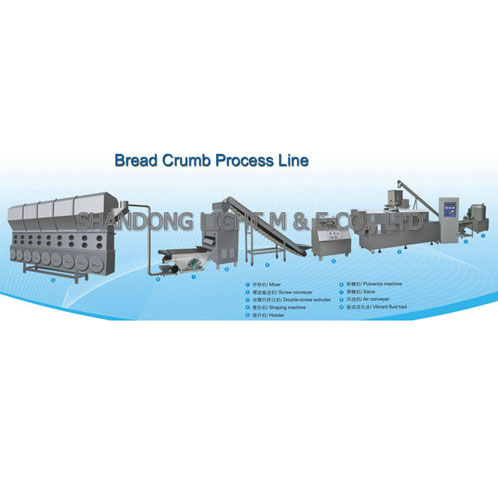 Bread Crumb Process Line