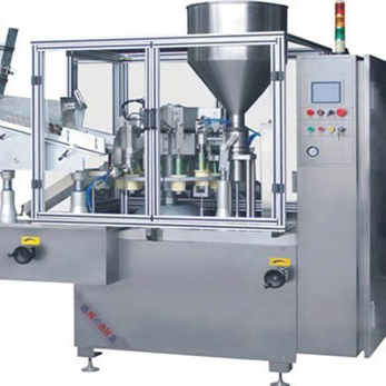 GF400 Tube Filling and Sealing Machine