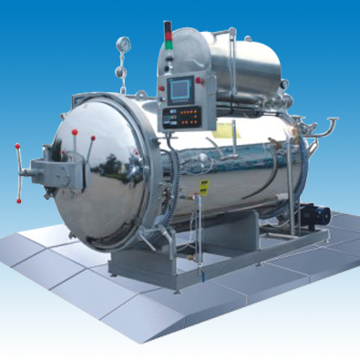 PLJ Hot Water Spray Autoclave