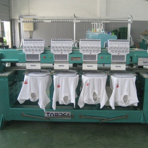 TP1204 Flat T-shirt Embroidery Machine
