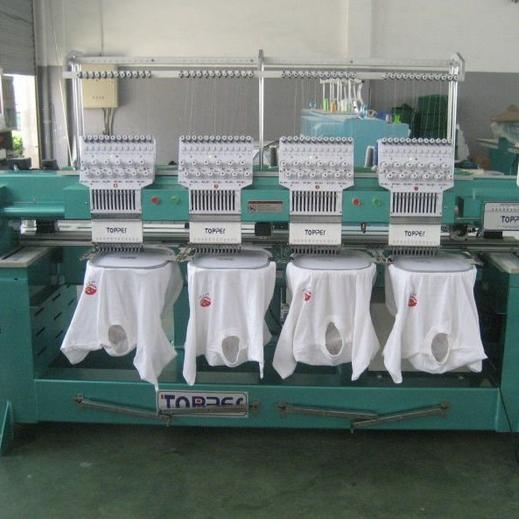 TP1204 Flat T-shirt Embroidery Machine