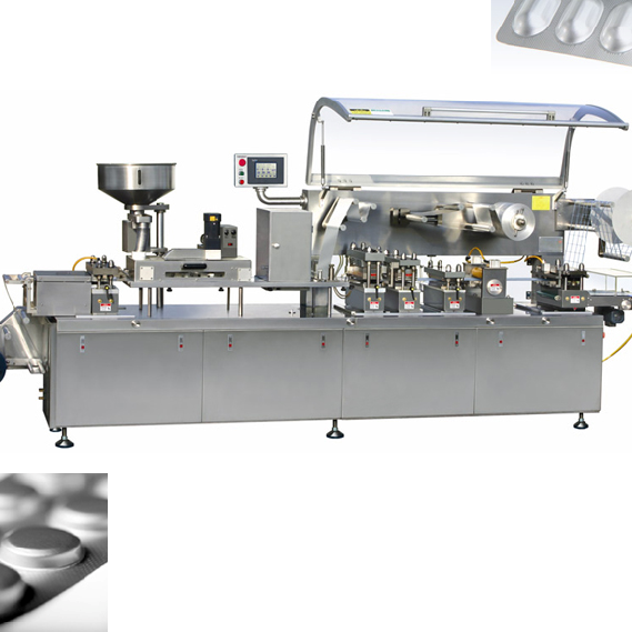 Blister Packing and Cartoning Production line