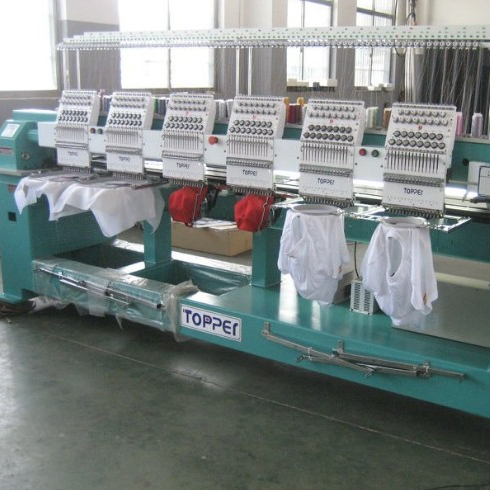 TP1506 flat T-shirt Cap Embroidery Machine