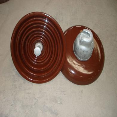 Disc suspension porcelain insulators