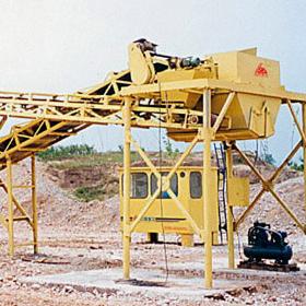 YPJ model mobile lime-soil crushing mixing equipment