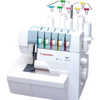 DF857AD Multi-function Overlock Sewing Machine