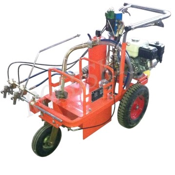 Cold Plastic Paint Road Marking Machine