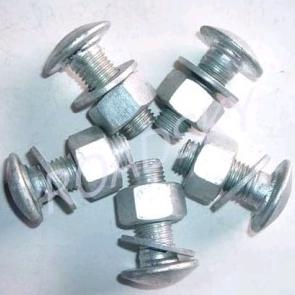 Galvanized Guardrail Bolts Nuts Washers