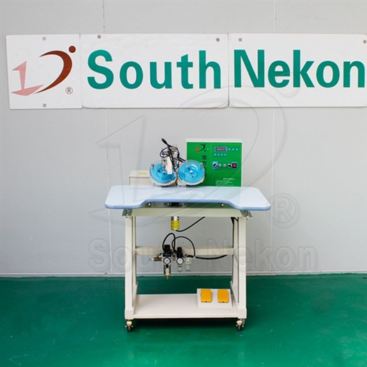 NK-D2007B Double-Disc Ultrasonic Hot-Fix Machine