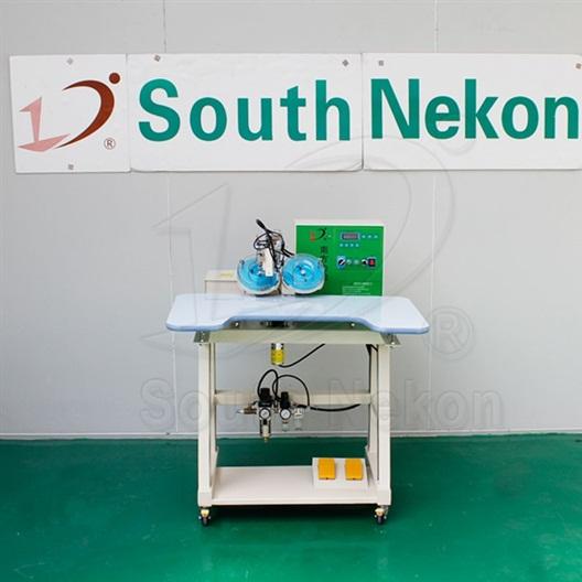 NK-D2007B Double-Disc Ultrasonic Hot-Fix Machine