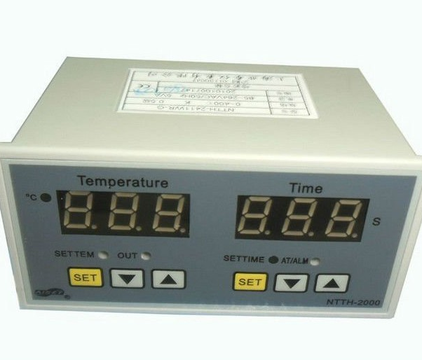 Digital Time and Temperature Controller Display