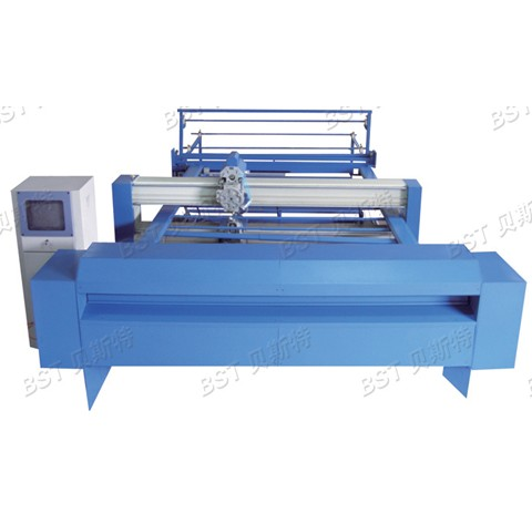 BST-28 Computerized and Continuous Single needle quilting machine