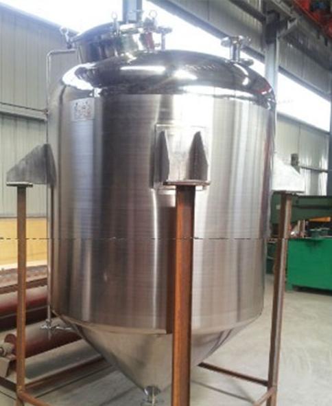 Sanitary 316 stainless steel milk storage tank