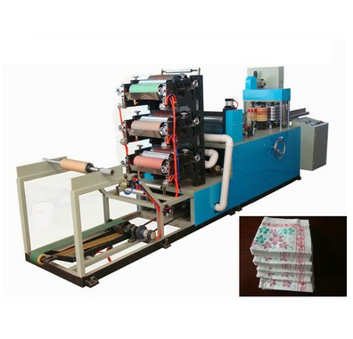 XY-OQ-7000A Full automatic Multi-colored Napkin Paper Machine