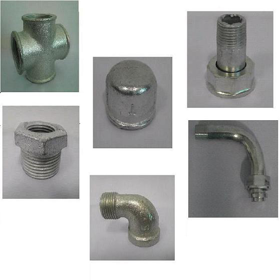 Malleable iron fittings exportimes