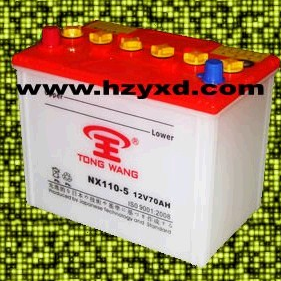 Dry Charged rechargeable Battery 70AH NX110-5