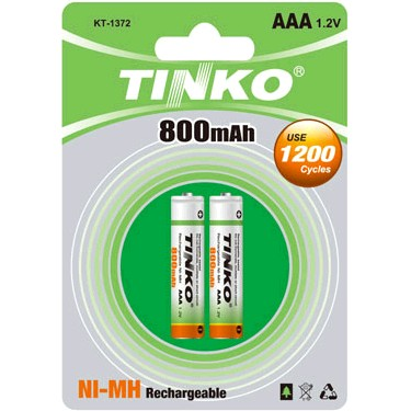 NI-MH Rechargeable Battery Size AAA 800MAH