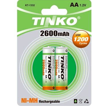 Rechargeable Battery (NI-MH Size AA 2600MAH)