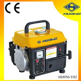 0.65KW Portable Gasoline Generator 110V 50Hz