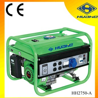 110V, 5.5HP, 2KW Gasoline Generator for South American market