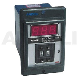 Digital timer relay ASY-2D ASY-3D