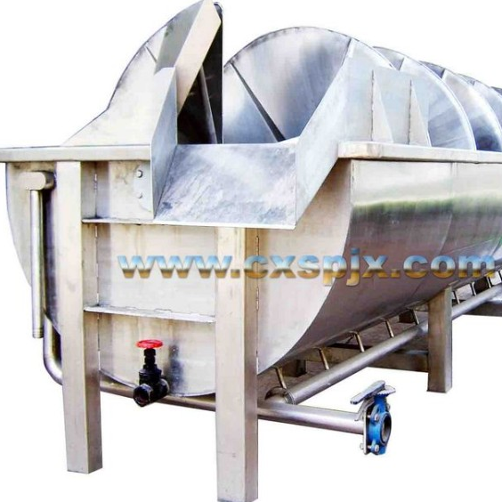 Spiral pre-cooling machine stainless steel
