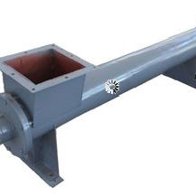 High efficient screw conveyor in mining equipment