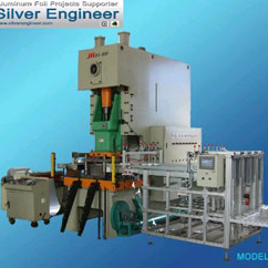 80Ton Aluminium Foil Container Machine